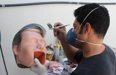 Making Of - Boneco feita para Léo Áquilla